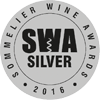 Silver Medal in the Sommelier Wine Awards 2016, awarded to Château Haut Gléon AOP Corbières red 2013