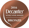 Bronze Medal in the Guide Decanter 2016, awarded to Château Haut Gléon AOP Corbières red 2013